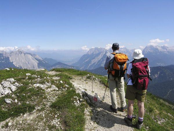 Hiking through the Tyrol region of AUSTRIA.