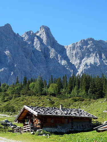 Karwendel mountains in Tyrol AUSTRIA.