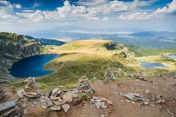 Seven Rila Lake view BULGARIA