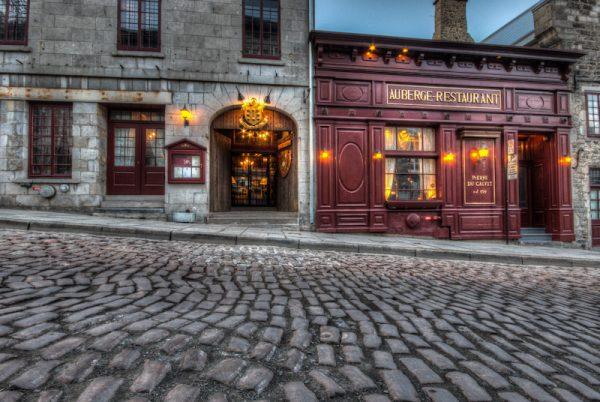 Montreal's famous Pierre du Calvet restaurant