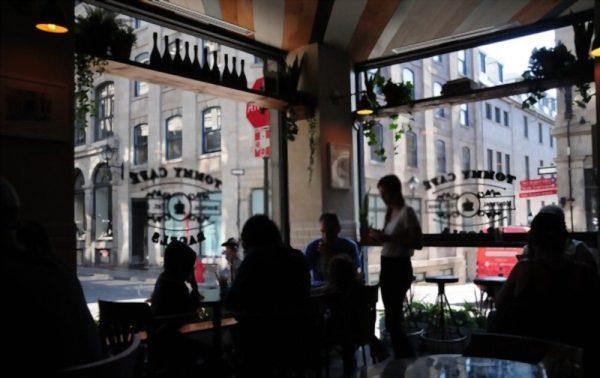 Tommy Café, Montréal CANADA.
