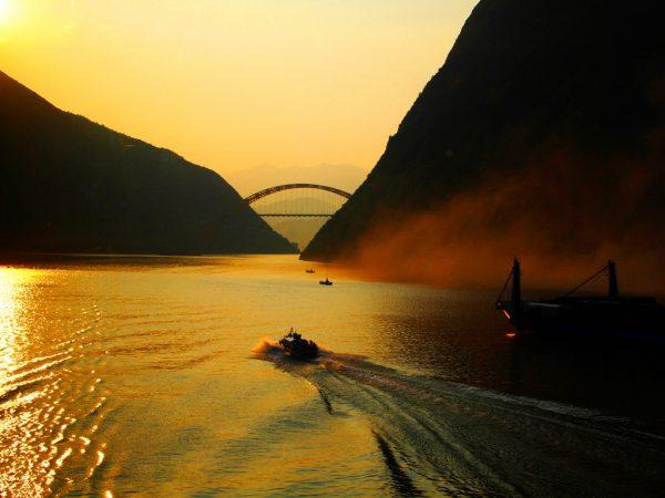 The CHINESE Yangtze River basin.