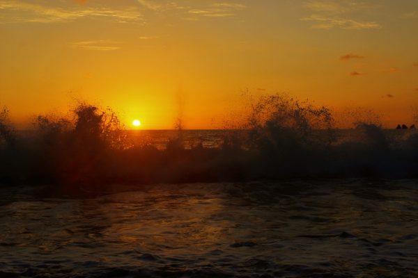 Sunset at Playa Pinuelas