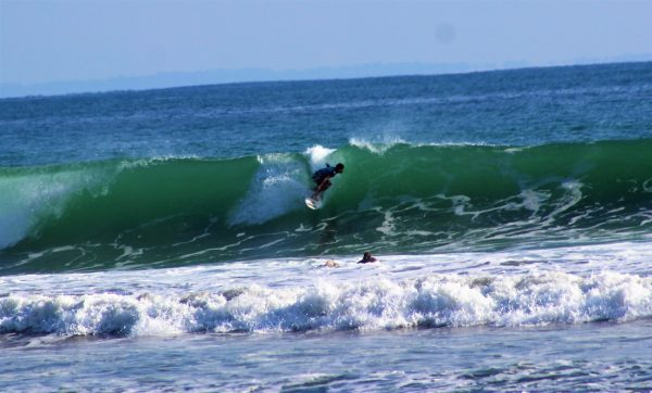 Surfer at Uvita COSTA RICA