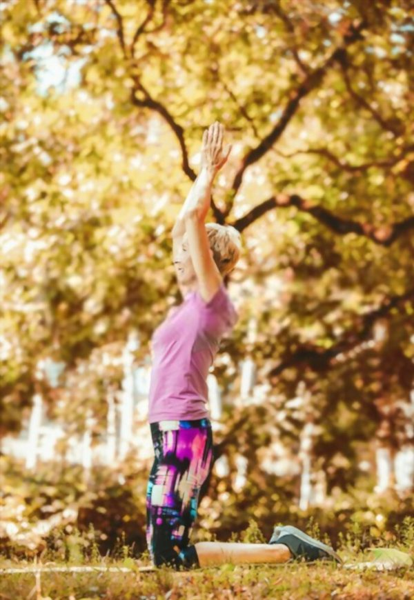 Healthy Habits: Yoga in the park