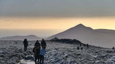 Hiking Wicklow Mountains