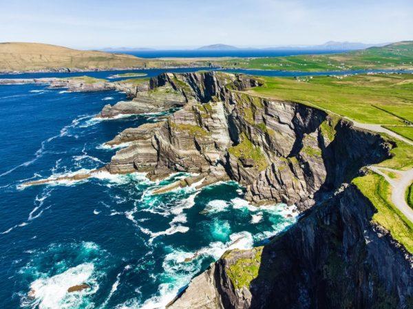 Famed Kerry Cliffs