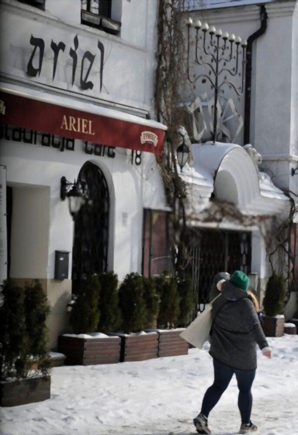 Kazimierz shop fronts