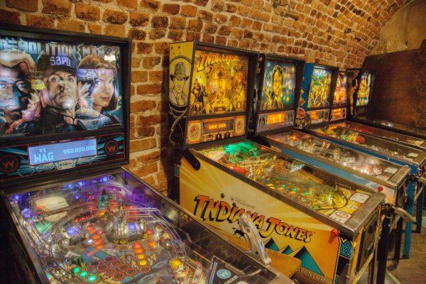 Krakow Pinball Museum machines
