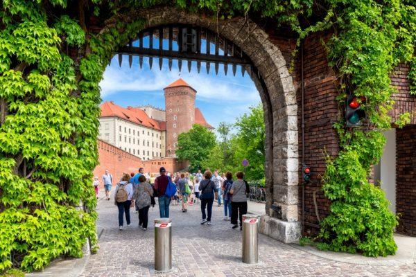 Wawel Castle Entrance Gate
