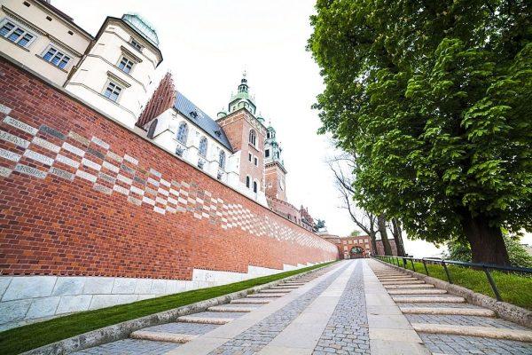 Wawel Royal Castle Steps
