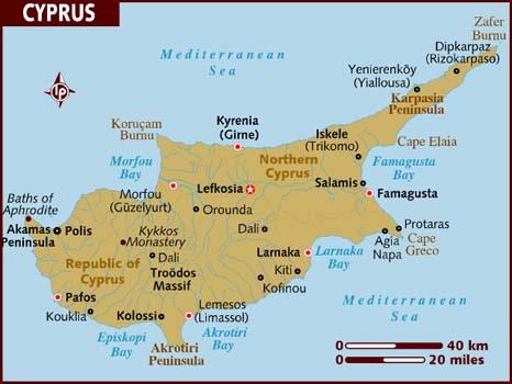 Cyprus Map