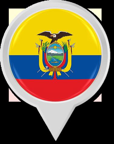 Follow the ECUADOR PIN