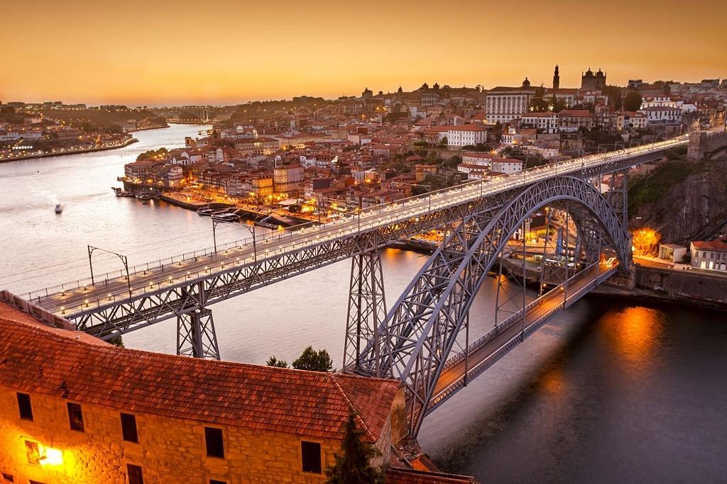 Bridge in Porto PORTUGAL