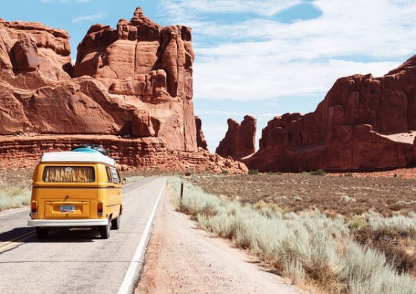 Travel the road by RV