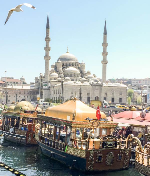Along the Bosporus in Istanbul TURKEY