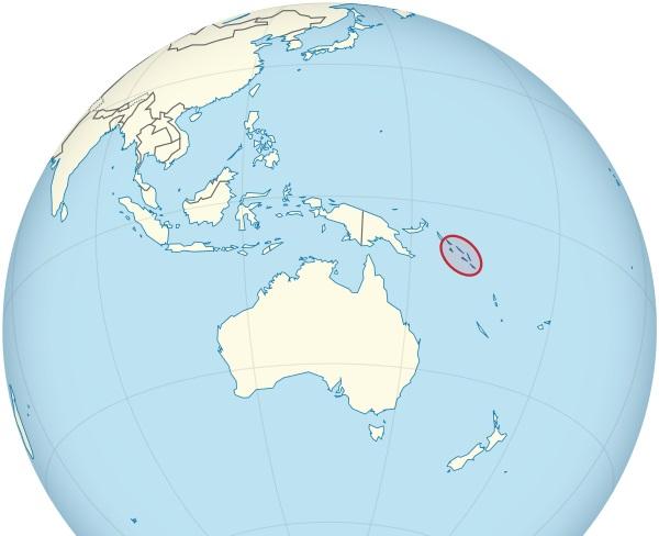 Where are the Solomon Islands Located?