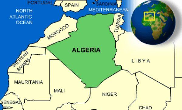 Where is Algeria Located?