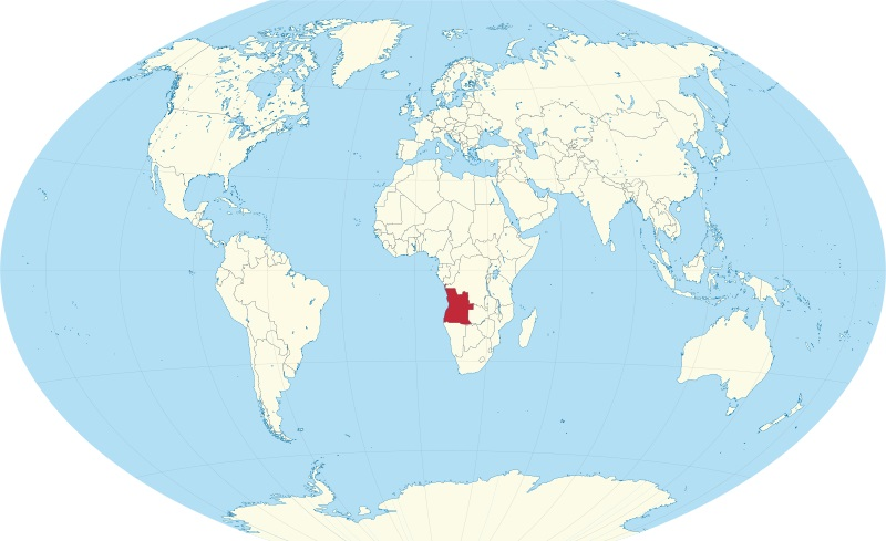 Where is Angola Located?