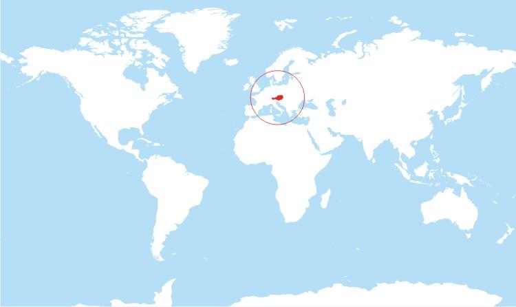 Where is Austria Located?