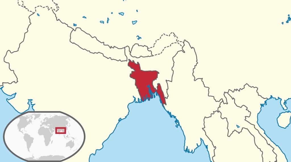 Where is Bangladesh Located?