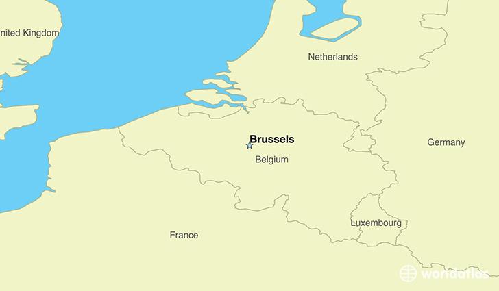 Where is Belgium Located?