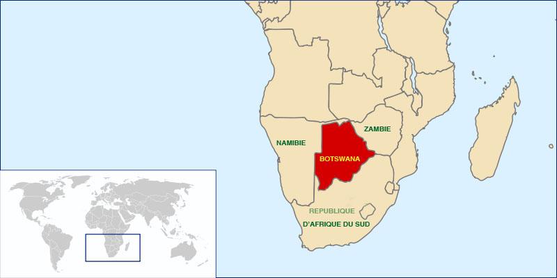 Where is Botswana Located?
