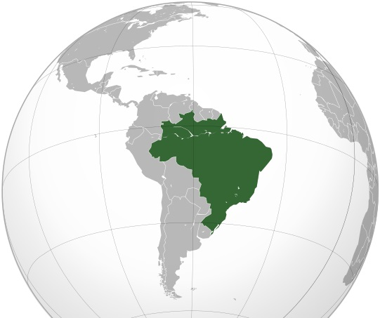 Where is Brazil Located?