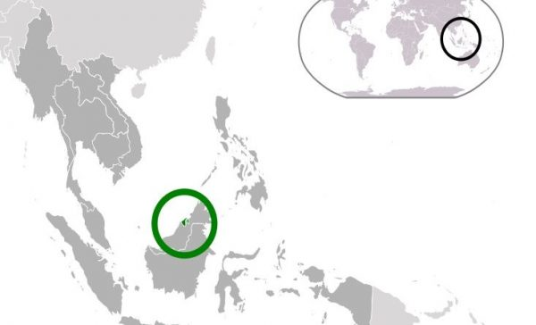 Where is Brunei Located?