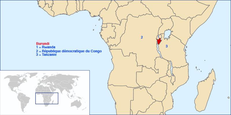 Where is Burundi Located?