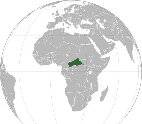 Where is Central African Republic Located?