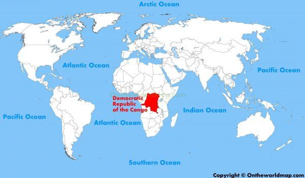 Where is Democratic Republic of the Congo Located?