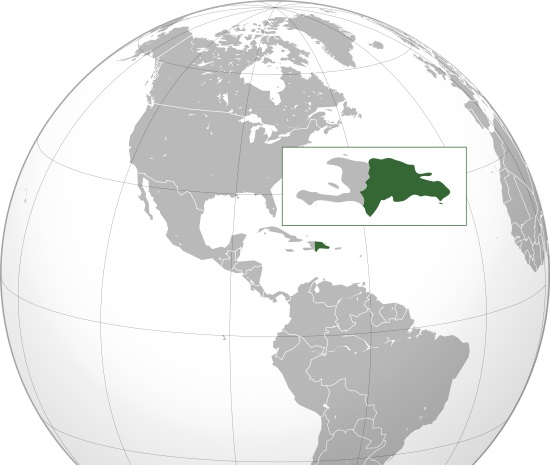 Where is Dominican Republic Located?