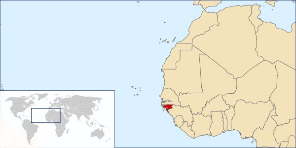 Where is Guinea-Bissau Located?