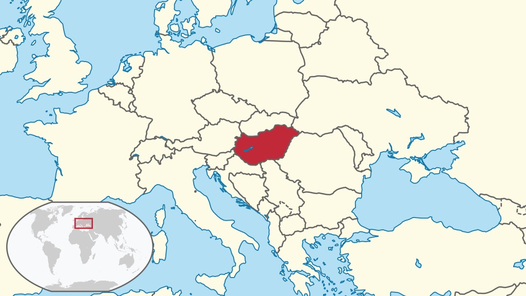 Where is Hungary Located?