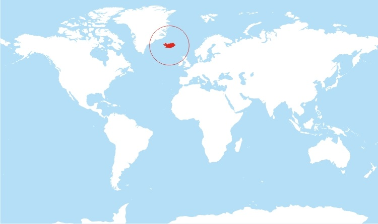 Where is Iceland Located?