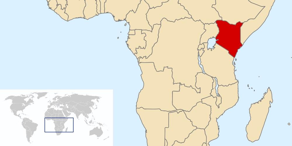 Where is Kenya Located?
