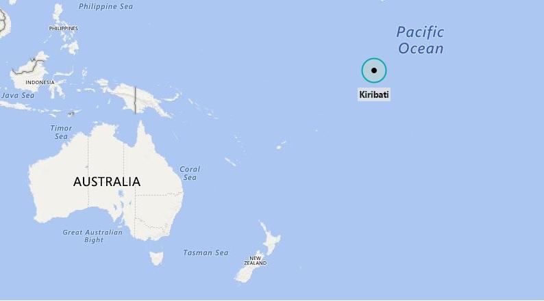 Where is Kiribati Located?