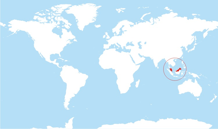 Where is Malaysia Located?