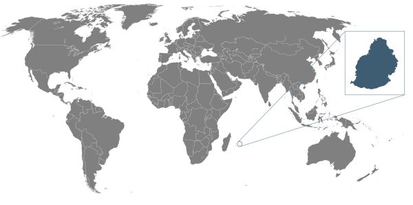 Where is Mauritius Located?