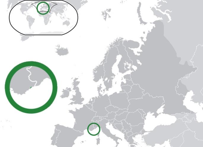 Where is Monaco Located?