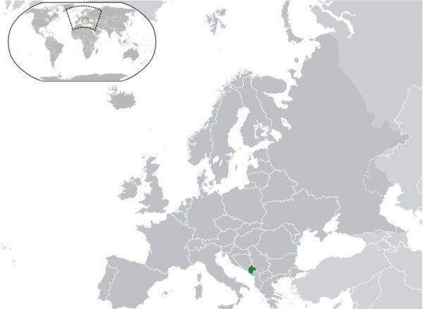 Where is Montenegro Located?