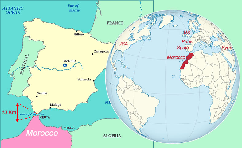 Where is Morocco Located?