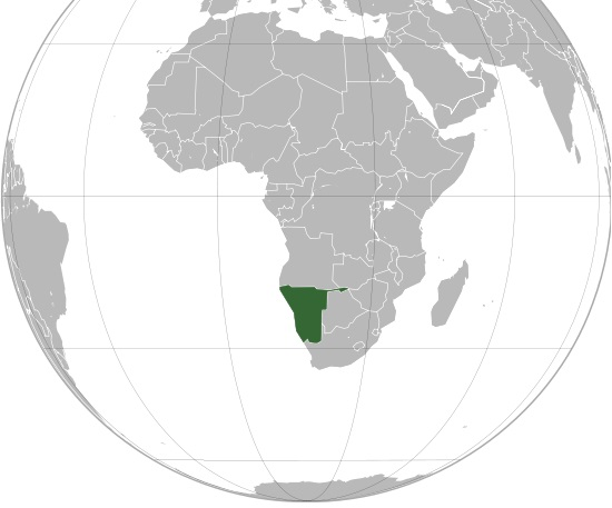 Where is Namibia Located?