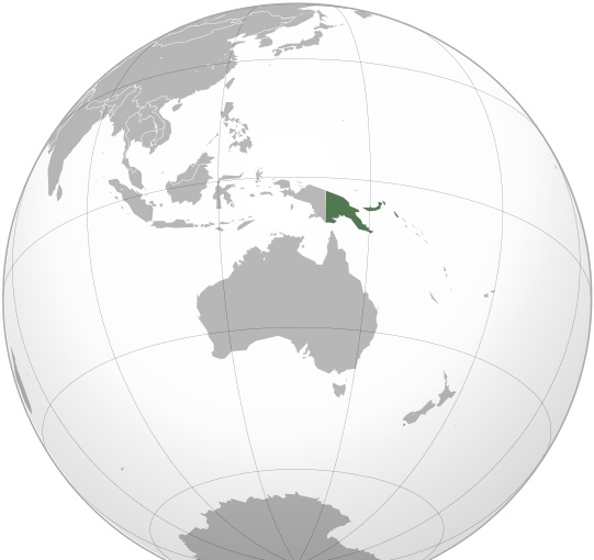 Where is Papua New Guinea Located?