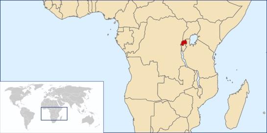 Where is Rwanda Located?