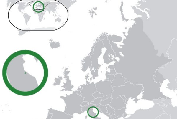 Where is San Marino Located?