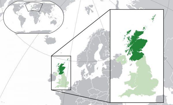 Where is Scotland Located?