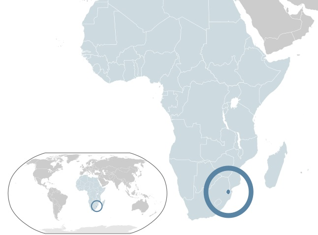 Where is Swaziland Located?