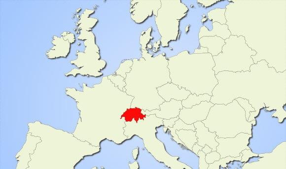 Where is Switzerland Located?
